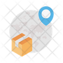 Global Parcel Delivery Icon