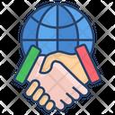 Global Partnership International Deal International Partnership Icon