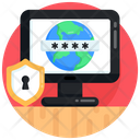Online Password System Password Password Protection Icon