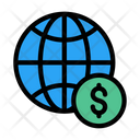 Global Payment Worldwide Payment Global Icon