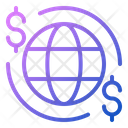 Global Payment Transaction Finance Icon