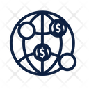 Global Payments Globe World Icon