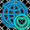 Global Worldwide Peace Icon