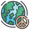 Global Peace World Peace Pacifism Icon