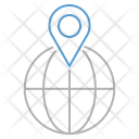 Global Place Location Icon