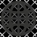Global Points Globe Icon