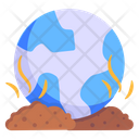 World Pollution Earth Pollution Global Pollution Icon