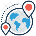 Global Positioning Icon
