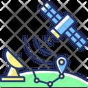 Satellite Artificial Gps Icon