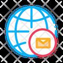 Globe Postal Transportation Icon