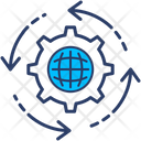 Global Business Global Management Global Precedence Icon