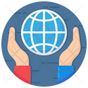Network Protection Global Care Internet Service Icon