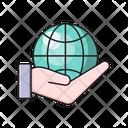 World Global Internet Icon
