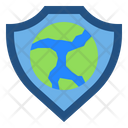 Shield Protection Earth Icon