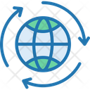 Global Recycle Icon