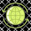 Arrow Earth Energy Icon