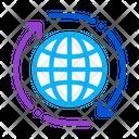 World Internet Network Icon