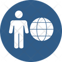 Global Relation International Businessman International Consumer Icon