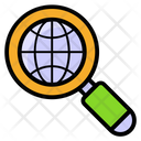 Global Research Worldwide Exploration International Search Icon