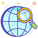 Global Research Foreign Search Global Exploration Icon