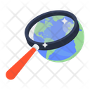 Global Research Worldwide Search Foreign Search Icon