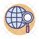 Global Research Enviromental Research Universal Search Icon