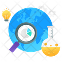 Global Research Global Exploration Global Search Icon