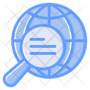 Global Research Global Exploration International Research Icon