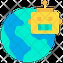 Global International Technology Robot Icon