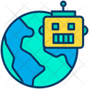 Global Robot Icon