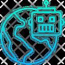 Global Robot Icon