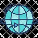 Global Rotation 360 Roation Global Icon