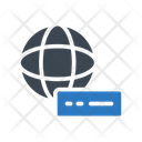 Modem Router Global Icon
