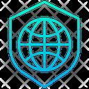 Shield Secure Internet Internet Icon