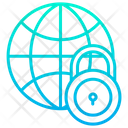 Global Global Security Global Safety Icon