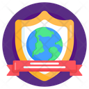Global Protection World Health Day Global Safety Icon