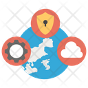Global Safety Cloud Icon