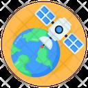 Global Satellite Icon