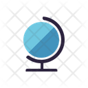 Global Science Globe Planet Icon