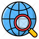 Global Search International Search Overall Search Icon