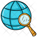 Global Search International Search Browsing Icon