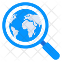 Global Search Browsing International Search Icon