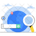 Global Search Globe Search Icon