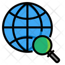 Seach Engine World Planet Icon