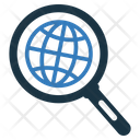 Global Search Globe Internet Icon