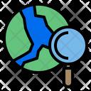 World Data Work Icon