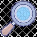 Global Search Internet Web Icon