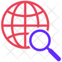 Global Search Search International Search Icon