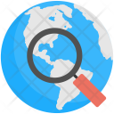 Global Search Internet Icon