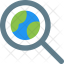 Global Search International Search Search Icon